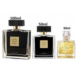 3x Woda Little Black Dress 30ml + 50ml +100ml