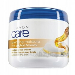 AVON Rewitalizujący krem do ciała miód i jogurt